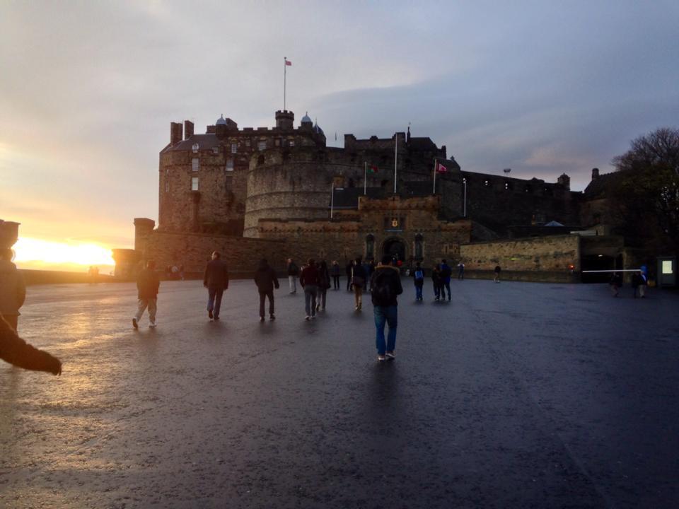 The Edinburgh Castle