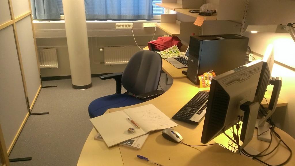 My working desk