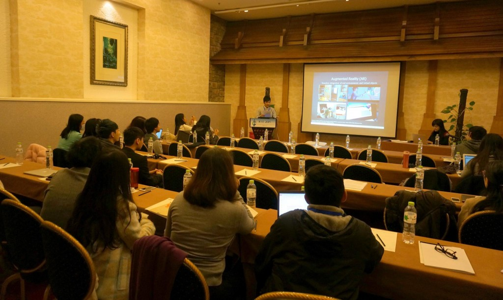 """I attended ICCE to present my work shop paper for the workshop called """"Innovative Designs for Mobile and Ubiquitous Learning: 1:1 and Beyond."""" There were around 25 people during the workshop and I found the presentations interesting."""