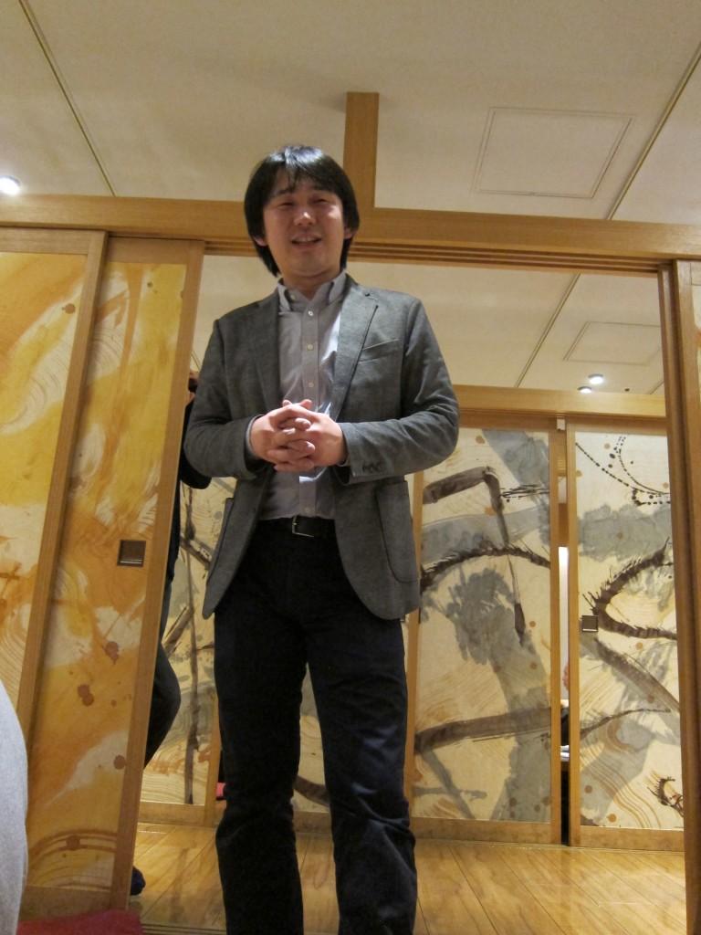Speech by Yamamoto-sensei
