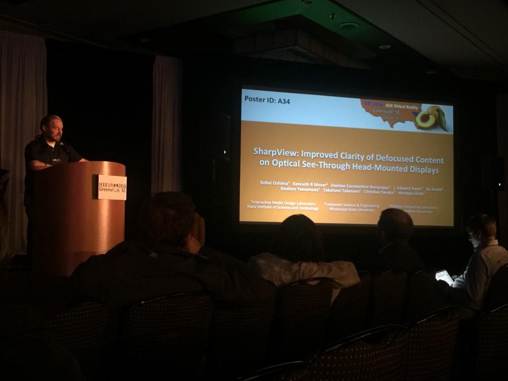 Kenny's presentation