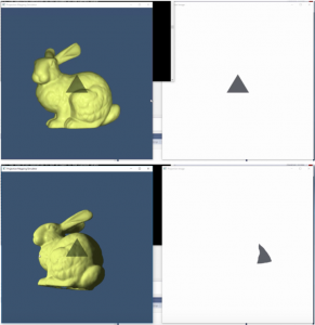 Simulation program that I made during the internship