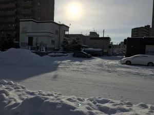 Snow, snow everywhere...