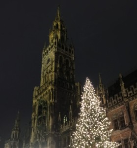 Christmas Market at Marien Platz